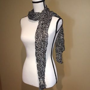 Accessories - Leopard print scarf, bundle and save 3 for $15